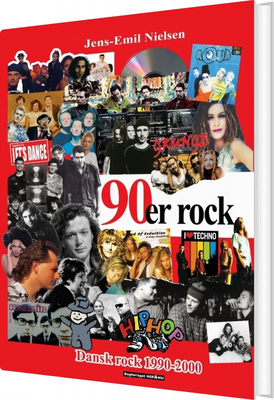 Image of   90´er Rock - Jens-emil Nielsen - Bog