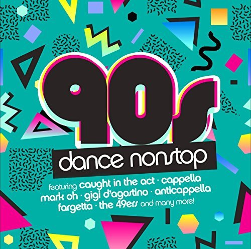 Image of   90s Dance Nonstop - CD