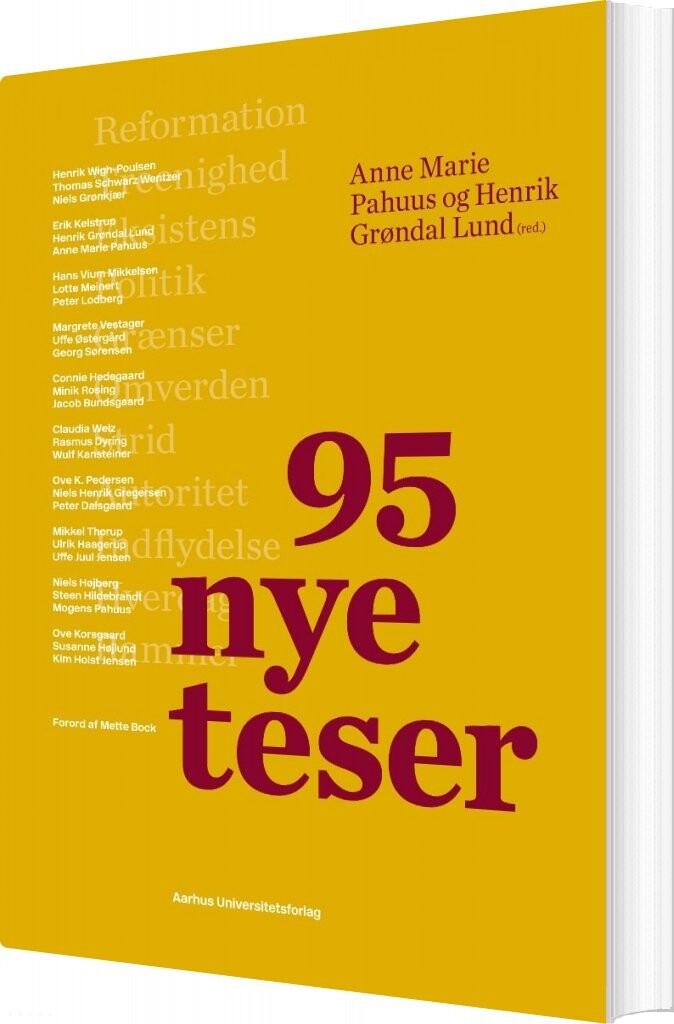 Image of   95 Nye Teser - Steen Hildebrandt - Bog