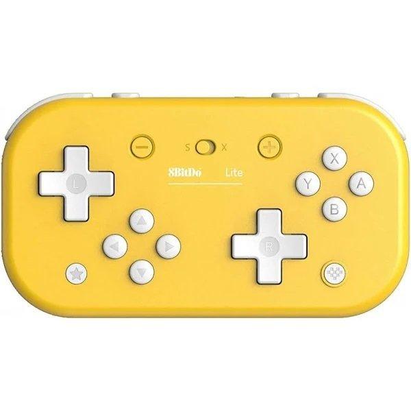 Image of   8bitdo Lite - Trådløs Bluetooth Gamepad Med Usb-c - Gul