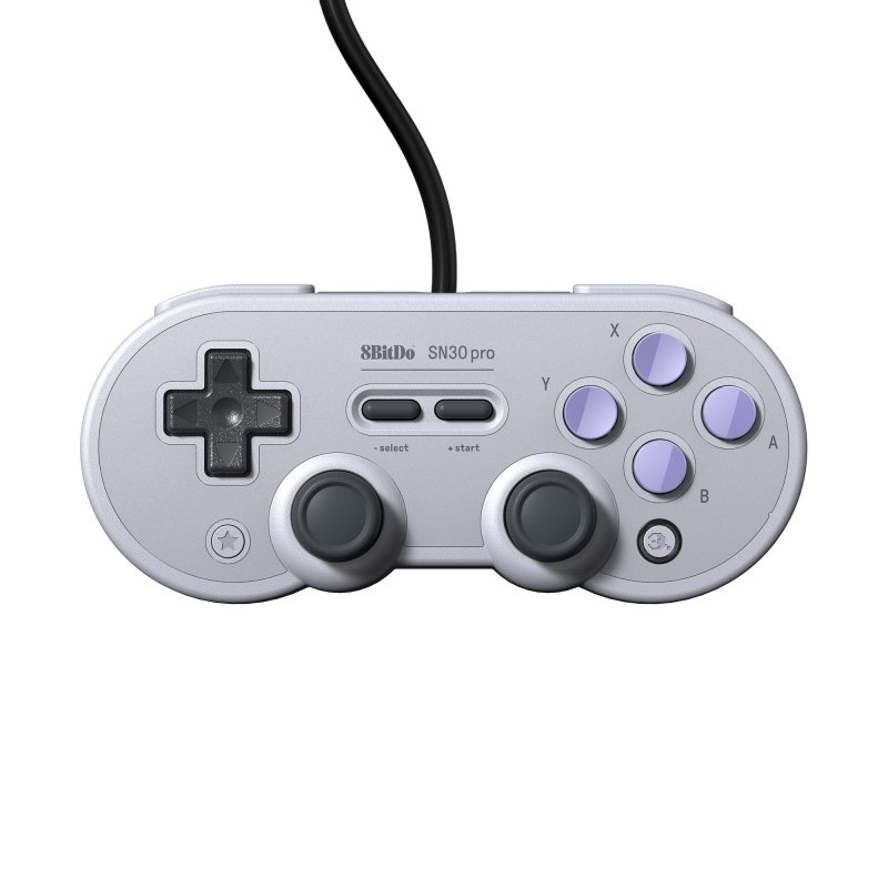 Image of   8bitdo Sn30 Pro - Usb Gamepad - Sn Edition