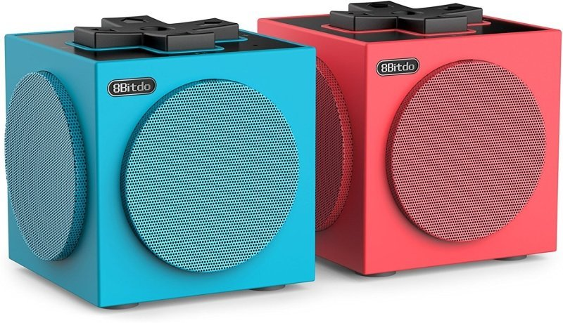Image of   8bitdo Twincube Speakers - Stereo Bluetooth Højtalere