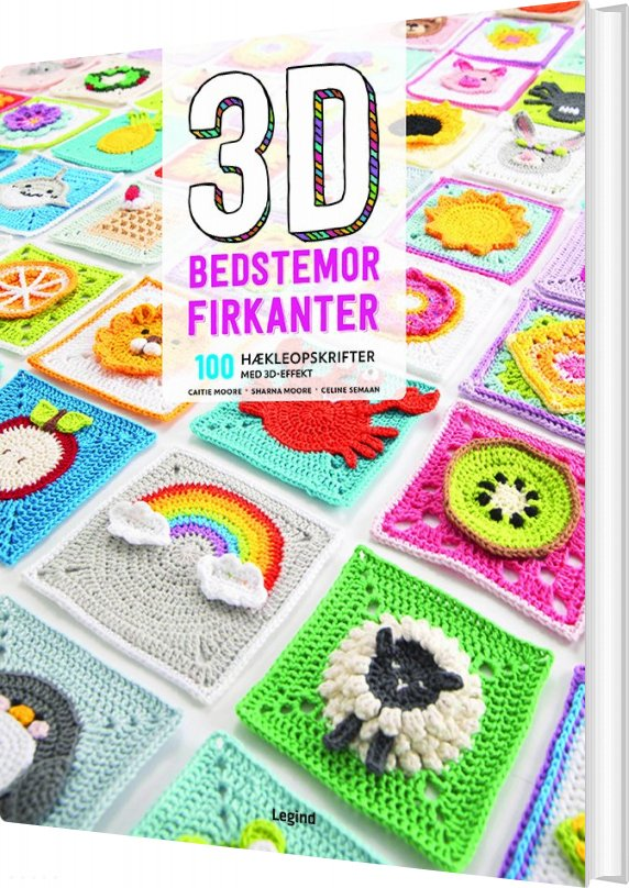 Image of   3d Bedstemor-firkanter - Celine Semaan - Bog