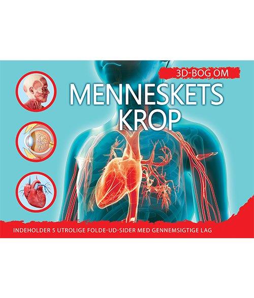 Image of   3d Bog Om Menneskets Krop - Jon Green - Bog