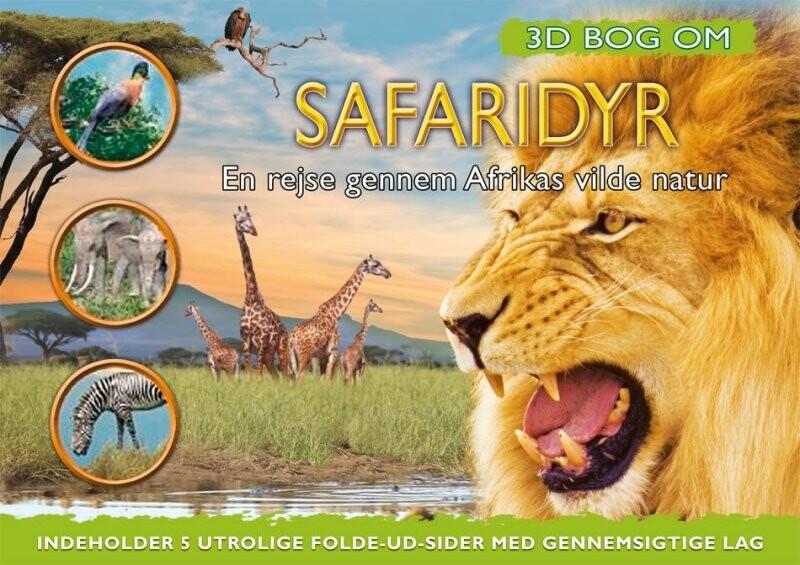 Image of   3d Bog Om Safaridyr - Barbara Taylor - Bog