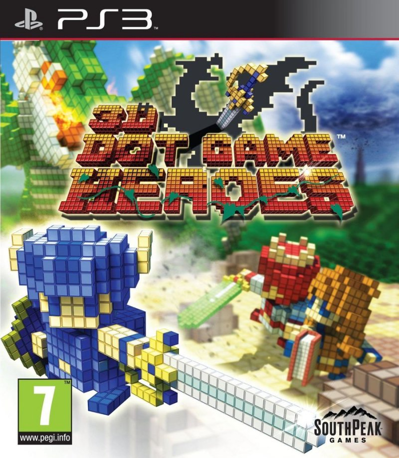 Image of   3d Dot Game Heroes (import) - PS3