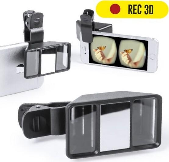 Image of   3d Linse Til Smartphone Kamera - Sort