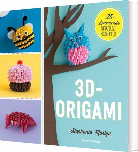 Image of   3d-origami - Stephanie Martyn - Bog