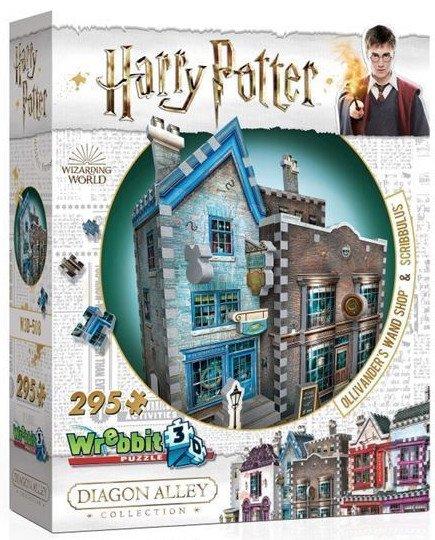 Image of   3d Puslespil - Harry Potter - Wand Shop - 295 Brikker