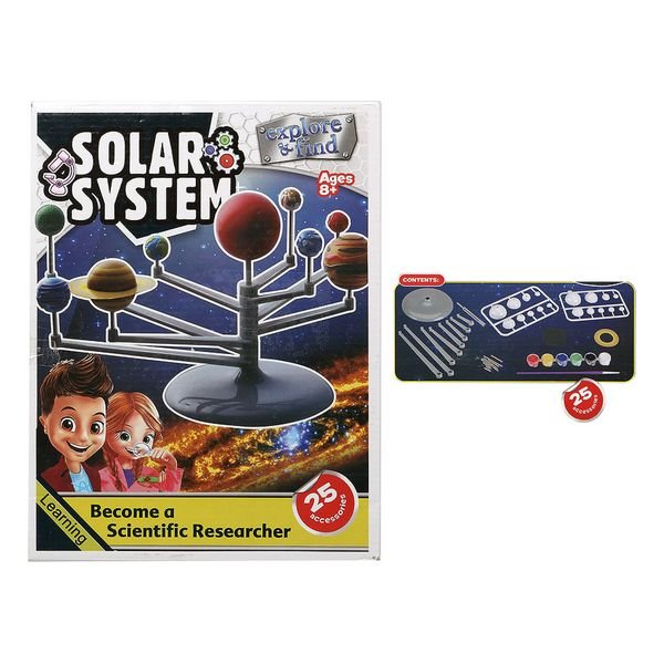 Image of   3d Puslespil - Solar System - 25 Dele