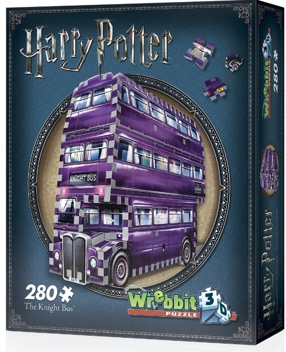 Image of   3d Puslespil - Harry Potter - The Knight Bus - 280 Brikker