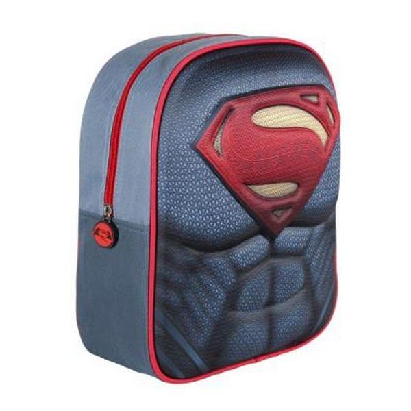 Image of   3d Superman Skoletaske