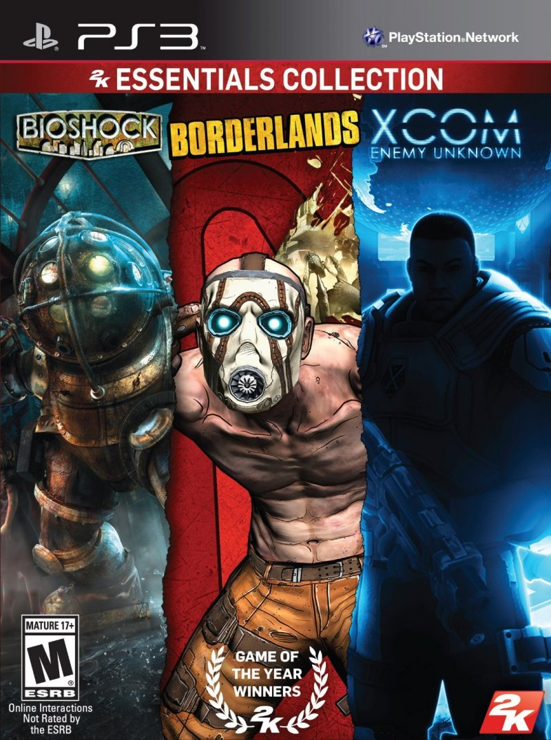 Image of   2k Essentials Collection (bioshock, Borderlands, Xcom) (import) - PS3