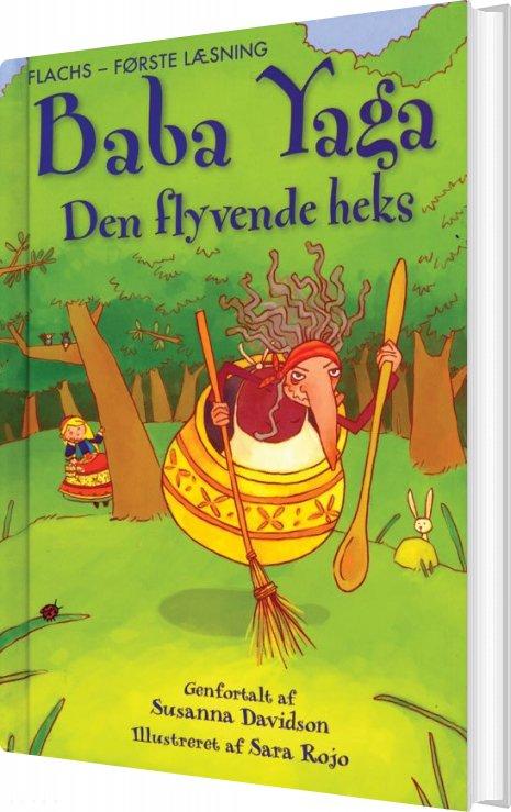 Baba Yaga Den Flyvende Heks - Davidson Susanna - Bog