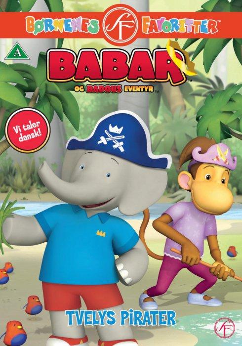 Image of   Babar 9 - Tvelys Pirater - DVD - Film