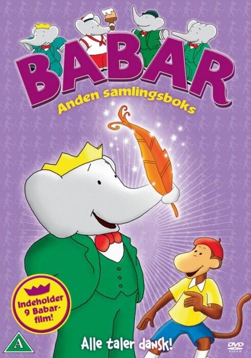 Image of   Babar Boks 2 - DVD - Film