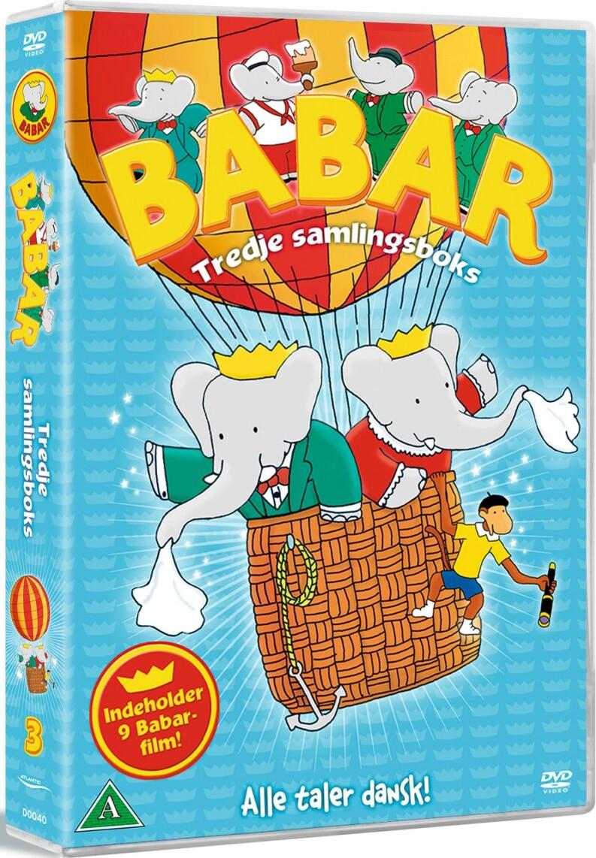 Image of   Babar - Boks 3 - DVD - Film