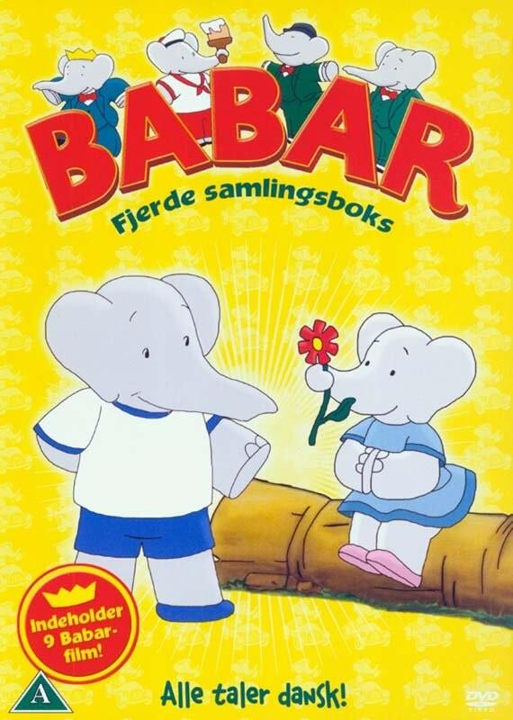 Image of   Babar - Boks 4 - DVD - Film