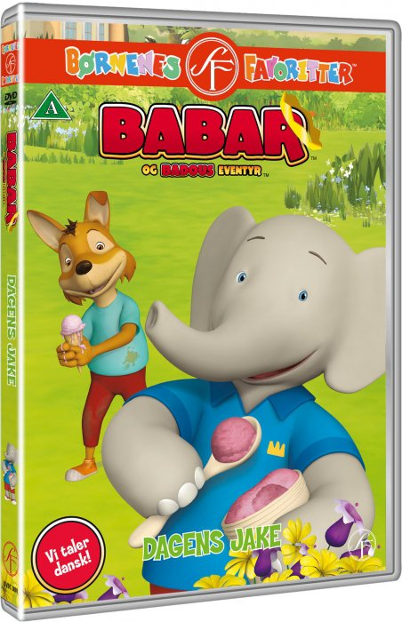 Image of   Babar - Dagens Jake - DVD - Film