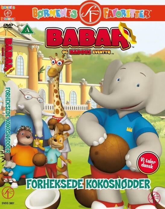 Image of   Babar - Forheksede Kokosnødder - DVD - Film