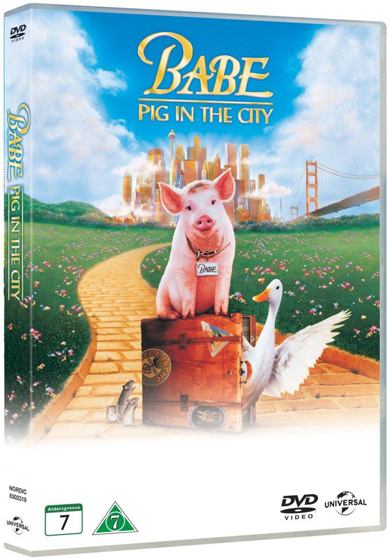 Billede af Babe 2 - Pig In The City / Den Kække Gris Kommer Til Byen - DVD - Film