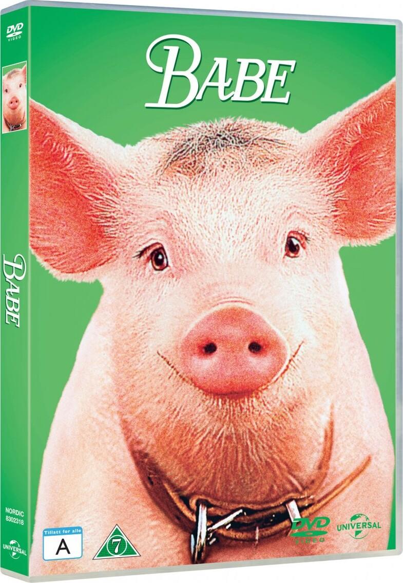 Billede af Babe - Den Kække Gris - DVD - Film
