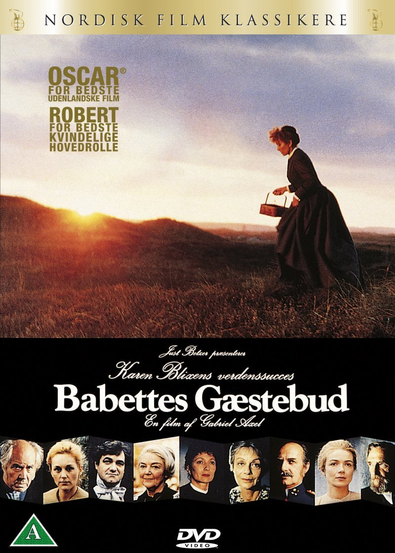Billede af Babettes Gæstebud - DVD - Film