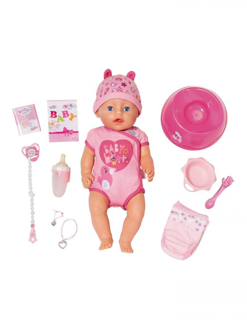 2e038c381fd Baby Born - Blød Dukke Med Blå Øjne → Køb billigt her