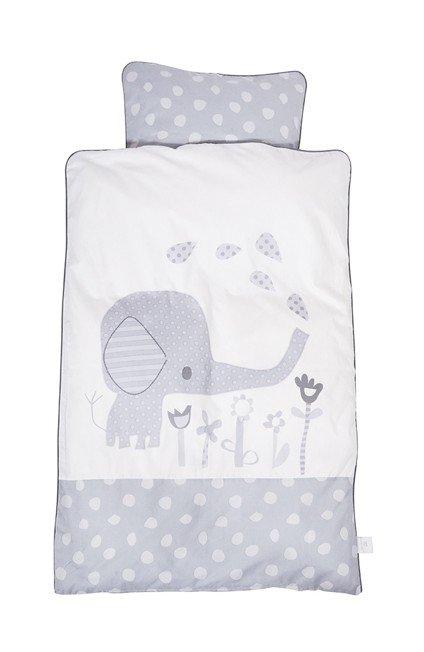 Baby Dan - Baby Sengesæt Elefantastic Grå