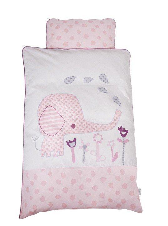 Image of   Baby Dan Baby Sengesæt Elefantastic I Pink