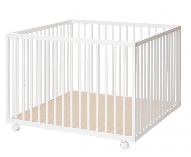 Baby Dan - Comfort Stor Kravlegård 99x99x73 Cm - Hvid