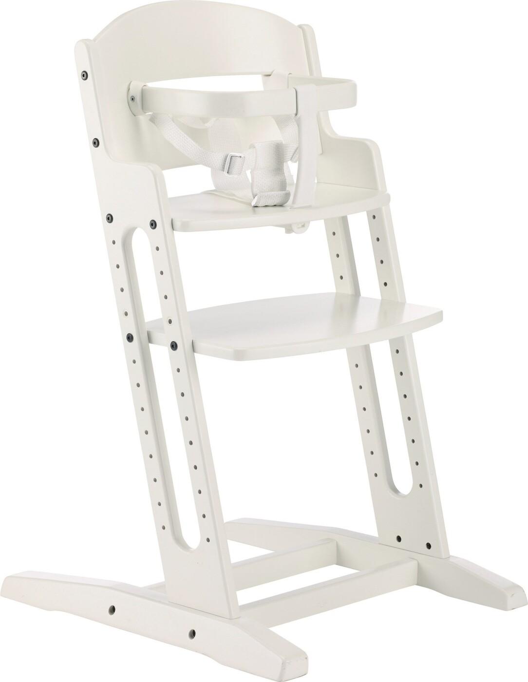 Højmoderne Babydan Danstol - Baby Højstol / Skråstol - Hvid → Køb billigt her CY-31