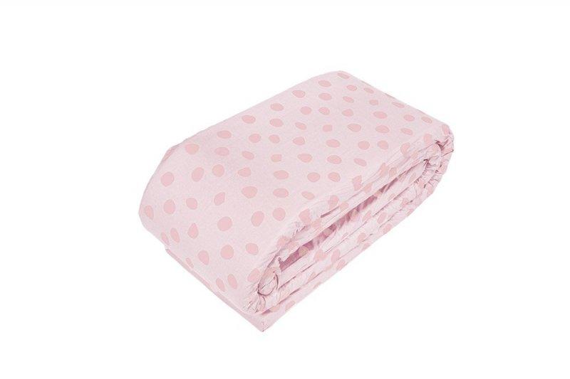 Baby Dan - Deluxe Cot Bumper Elefantastic Pink