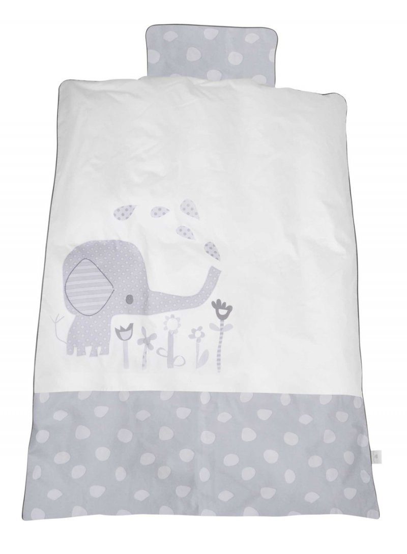 Baby Dan - Junior Sengesæt Elefantastic - Grå