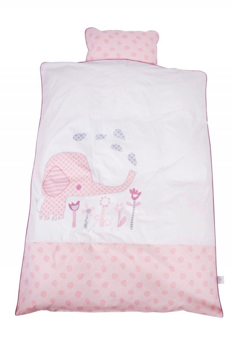 Baby Dan - Junior Sengesæt Elefantastic - Pink