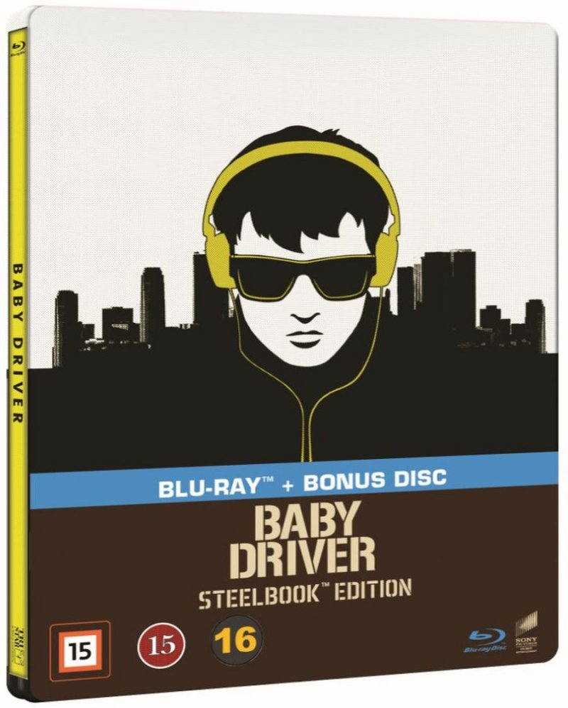 Image of   Baby Driver - Steelbook - Blu-Ray