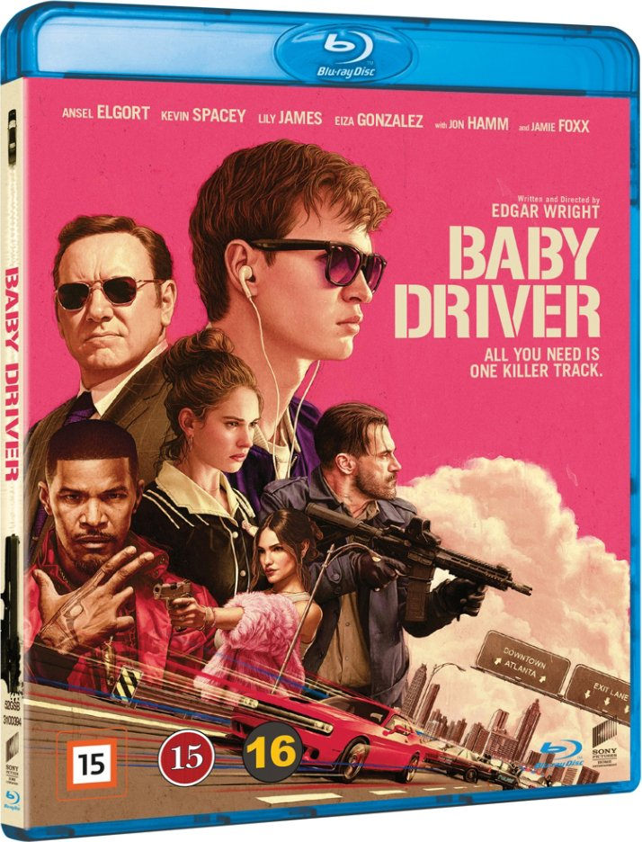 Image of   Baby Driver - Blu-Ray