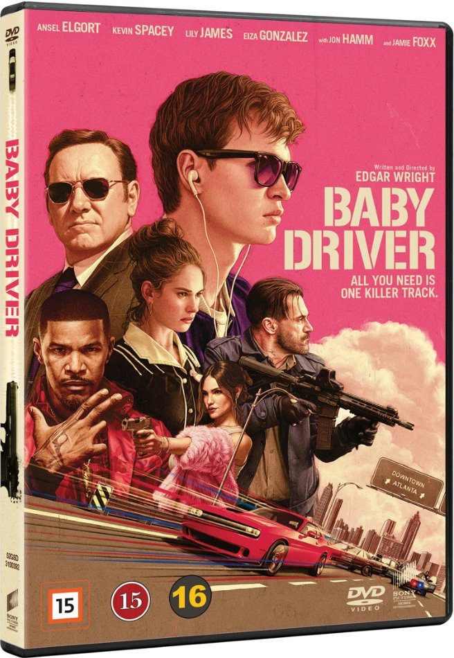 Image of   Baby Driver - DVD - Film