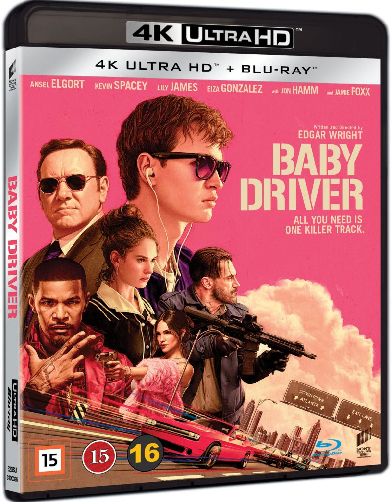Image of   Baby Driver - 4K Blu-Ray