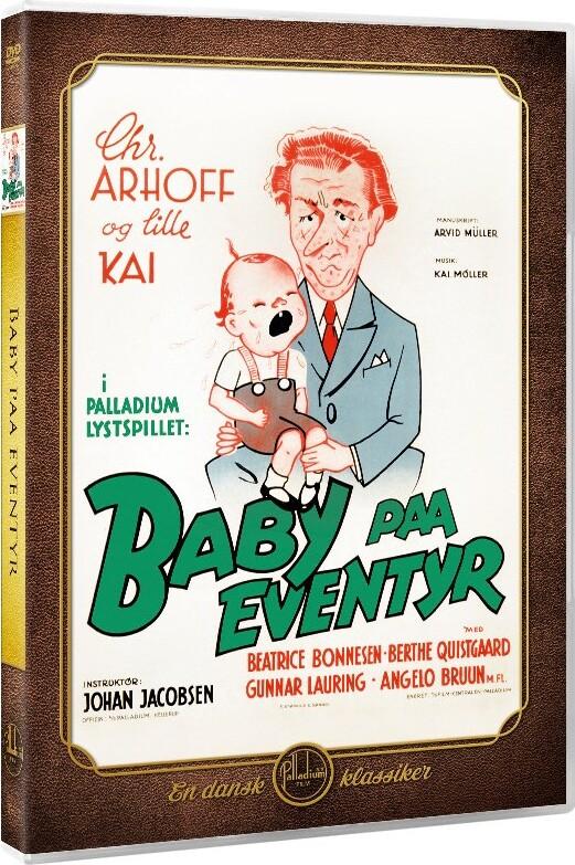 Image of   Baby På Eventyr - DVD - Film