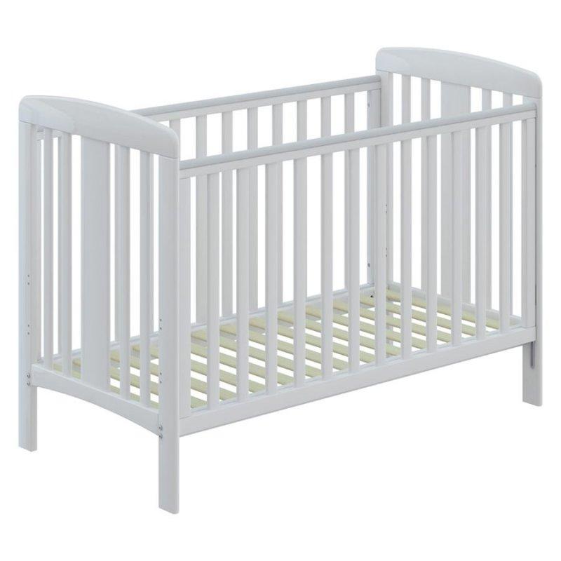Babydan Tremmeseng - Karla Babyseng - 60 X 120 Cm - Hvid