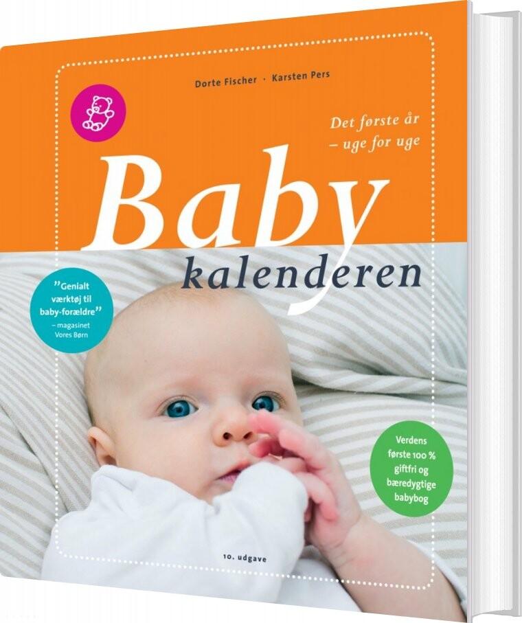 Image of   Babykalenderen - Karsten Pers - Bog
