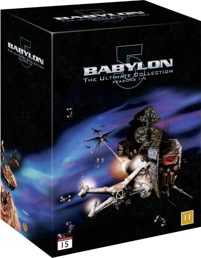Image of   Babylon 5: Complete Box - Sæson 1-5 - DVD - Tv-serie