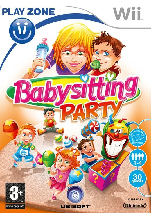 Image of   Babysitting Party - Wii