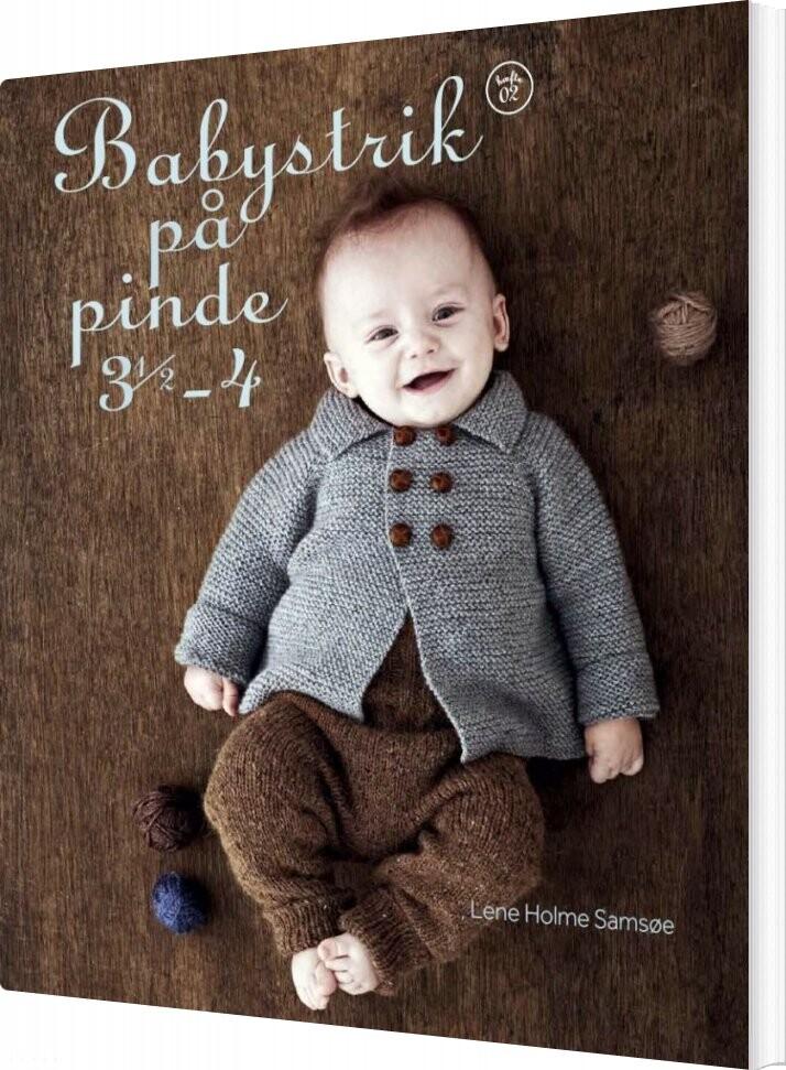 Image of   Babystrik På Pinde 3,5-4 - Lene Holme Samsøe - Bog