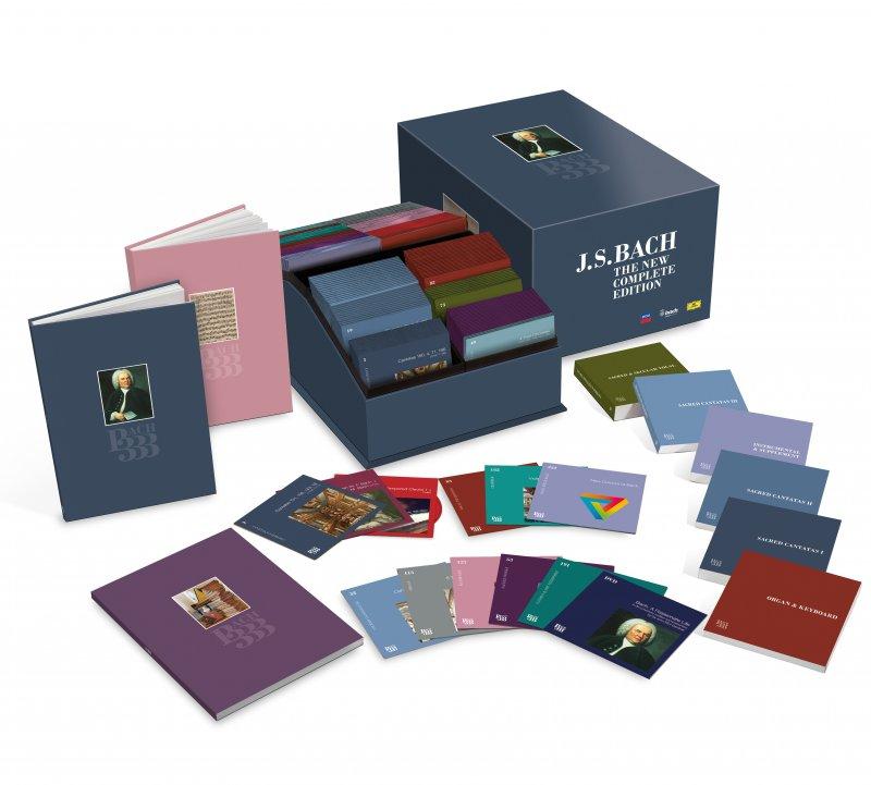 Image of   Johann Sebastian Bach - Bach 333 The New Complete Edition (cd + Dvd) - CD