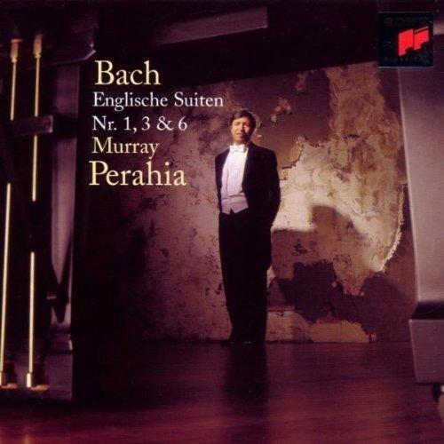 Image of   Murray Perahia - Bach - English Suites 1+3+6 - CD