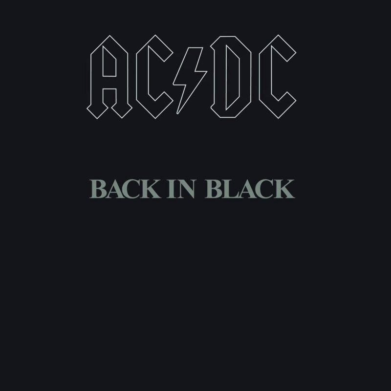 Image of   Ac Dc - Back In Black - Vinyl / LP