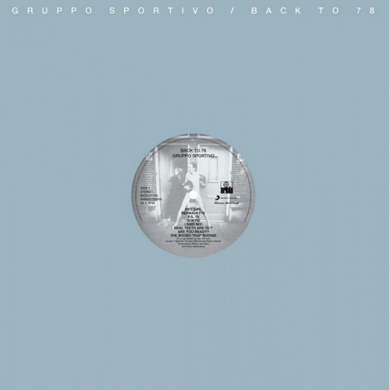 Gruppo Sportivo - Back To 78 - Vinyl / LP
