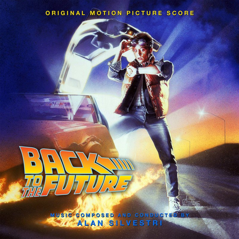 Image of   Back To The Future Soundtrack - Picture Disc - Vinyl / LP